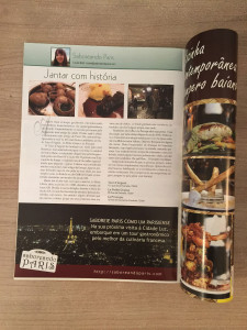 Revista Deguste: Jantar com História